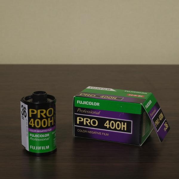 富士フィルム PRO400H フィルムガイド そんなに青いかな?