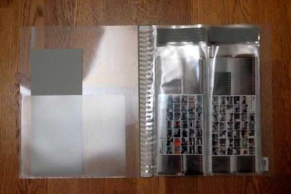 ネガフィルムの保存は、このどちらかの専用ファイルがオススメ!