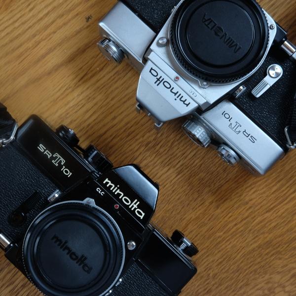 ミノルタ SRT-101 使い方ガイド フィルムの装填から露出計まで